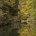 Shawnee Fall Reflection by Edward Spengler