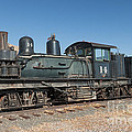Shay Engine 14 In The Colorado Railroad Museum by Fred Stearns