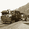Shay No. 498 At The Summit Of Mt. Tamalpais Marin Co California Circa 1902 by California Views Mr Pat Hathaway Archives