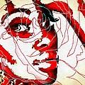 She Pop Art Rose by Catherine Lott