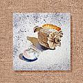 She Sells Sea Shells Decorative Collage by Irina Sztukowski