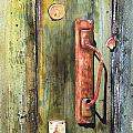 Shed Door by Sam Sidders