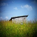 Shed In Field by Joyce Kimble Smith