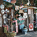 Shed Toilet Bowls And Plaques In Seligman by RicardMN Photography
