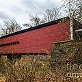 Sheeder/hall Covered Bridge by Judy Wolinsky