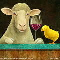 Sheep Faced On Wine With Some Chick He Met In A Bar... by Will Bullas