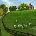 Sheep May Safely Graze by Deborah Butts