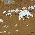 Sheep by Winslow Homer