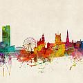 Sheffield England Skyline by Michael Tompsett