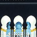 Sheikh Zayed Grand Mosque - Abu Dhabi - Uae by Matteo Colombo