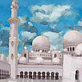 Sheikh Zayed Mosque by Catf