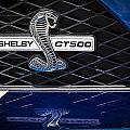 Shelby Gt 500 by Jack R Perry