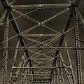 Shelby Street Bridge Details Nashville by Dan Sproul
