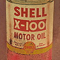 Shell Motor Oil by Michelle Calkins