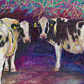 Sheltering Cows by Helen White