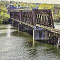 Shelton Derby Railroad Bridge by Fran Gallogly