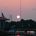 Shem Creek At Twilight by Dale Powell