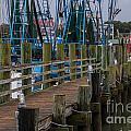 Shem Creek Wharf by Dale Powell