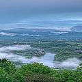 Shenandoah Evening Fog by Lara Ellis
