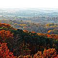 Shenandoah Valley Fall Panorama by Lynn Bauer