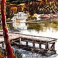 Shepherd Mountain Lake Bright by Kip DeVore