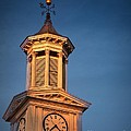 Shepherd University - Mcmurran Clock Tower At Twilight by Julia Springer