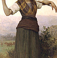 Shepherdess by William Bouguereau