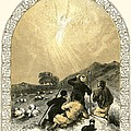 Shepherds And Angel by Miles Birkett Foster