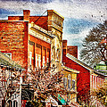 Shepherdstown - East German Street In November by Julia Springer