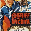 Sheriff Of Wichita, L-r Allan Rocky by Everett