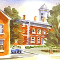Sheriffs Residence With Courthouse by Kip DeVore
