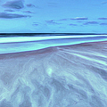 Shifting Sands On Frisco Beach Outer Banks II by Dan Carmichael