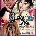 Shih Tzu Art - My Fair Lady Movie Poster by Sandra Sij