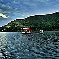 Shikara In Manasbal Lake by Hakim Imran