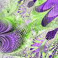 Shimmering Joy Abstract Digital Art by Valerie Garner