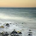 Shiny Rocks At The Sea by Guido Montanes Castillo