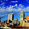 Shiny Seattle by Ron  Tackett