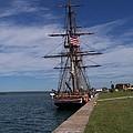 Ship At Dock by Jennifer  King