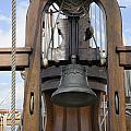 Ship Bell And Capstan by Bradford Martin