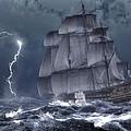 Ship In A Storm by Daniel Eskridge