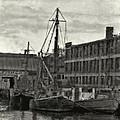 Ship Mooring Vintage by Cathy Anderson