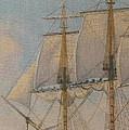 Ship-of-the-line by Elaine Jones