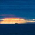 Ship On The Horizon by Edgar Laureano
