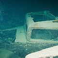 Ship Wreck With Trucks by Roy Pedersen