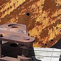 Ship Yard Rust 5 by Anita Burgermeister