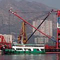 Shipping Crane by Ian Mcadie