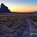 Shiprock Sunset by Pam Colander
