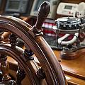 Ships Wheel by Dale Kincaid