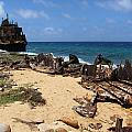 Shipwreck on Klein Curacao