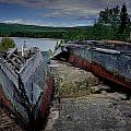 Shipwrecks At Neys Provincial Park No.3 by Randall Nyhof
